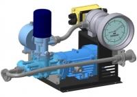 Гидравлический модуль для перекачки топлива