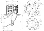 Донный клапан автоцистерны 692.00.00.00-01