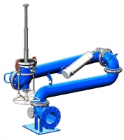 Устройство нижнего слива УСН 150/175 (с гидромонитором)