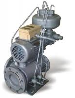 Клапан регулирующий с гидроуправлением Ду 100